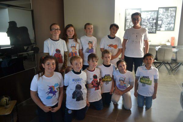 Creatoo - Anniversaire - Décoration T-shirts