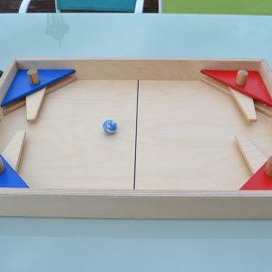Pack 10 jeux en bois