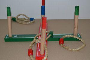 Creatoo - Jeux en bois - Lancer d'anneaux